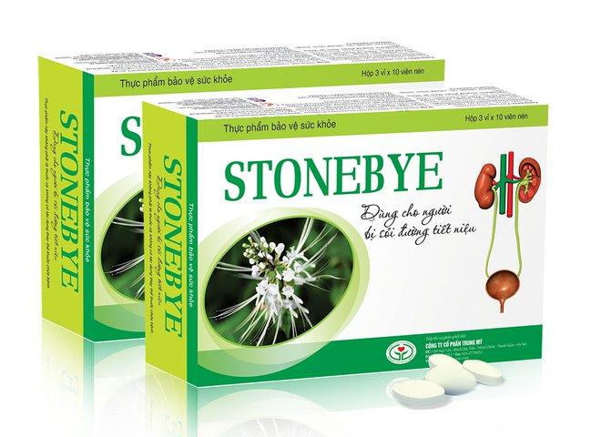 Stonebye – Sản phỗ hỗ trợ điều trị sỏi thận, sỏi tiết niệu từ Xa tiền tử